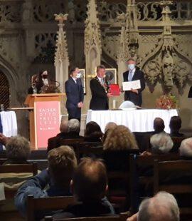 Verleihung des Kaiser-Otto-Preis an Präsident Rumäniens Klaus Werner Iohannis. Herzlichen Glückwunsch an einen überzeugten Europäer.